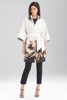 Josie Natori Printed Spring Cotton Topper