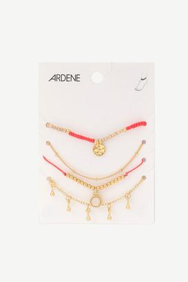 Ardene Pack of Ankle Bracelets