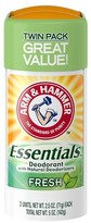 Arm & Hammer Essentials Fresh Antiperspirants And Deodorants - 5oz