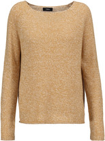 Theory Lalora linen and cashmere-blend sweater
