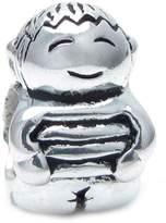 Queenberry Sterling Silver Cute Baby Little Boy Kid Bead For European Chamilia Biagi Troll Pandora Charm Bracelets