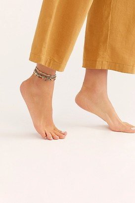 Free People Treasure Layer Anklet
