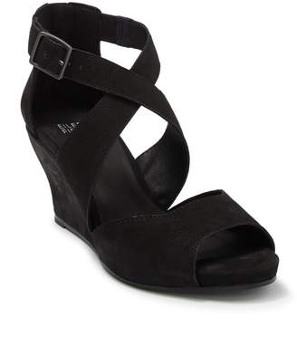 Eileen Fisher Carole Suede Wedge Sandal