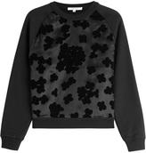 Carven Cotton Sweatshirt with Applique