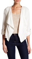 UNIONBAY Union Bay Adaline Linen Blend Jacket (Petite)