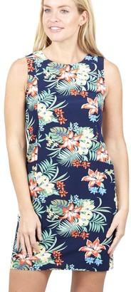 M&Co Izabel tropical print shift dress