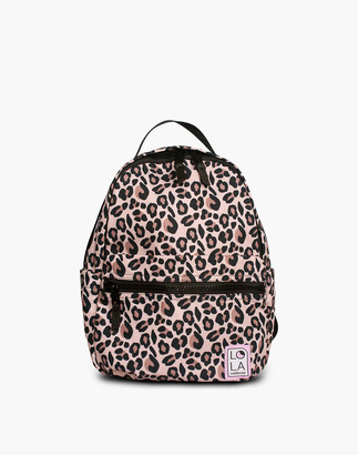 Madewell LOLA Jane Starchild Medium Backpack in Leopard Print