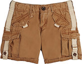 Scotch Shrunk WASHED COTTON CANVAS CARGO SHORTS-TAN, NO COLOR SIZE 8