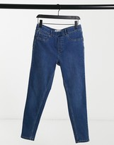 Thumbnail for your product : New Look lift and shape jegging in mid blue