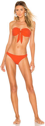 Zimmermann Primrose Tie Front Bikini Set