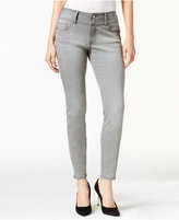 Thalia Sodi Gray Wash Skinny Jeans, Only at Macy's