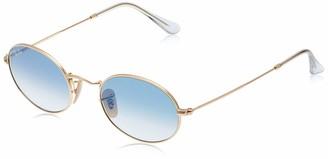 Ray-Ban RB3547N Oval Flat Lenses Sunglasses