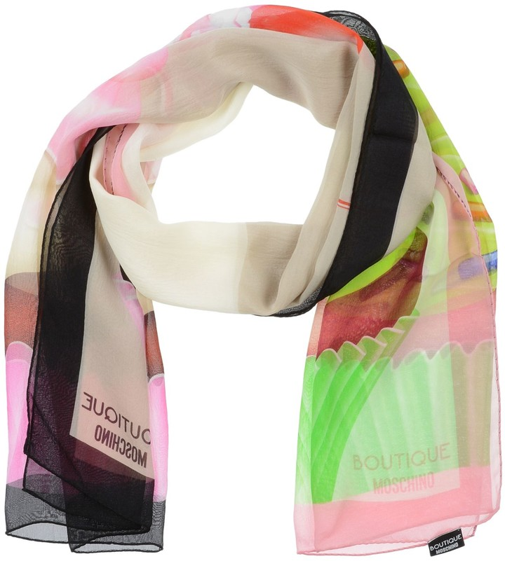 94b221e35a Moschino Silk Women's Scarves - ShopStyle