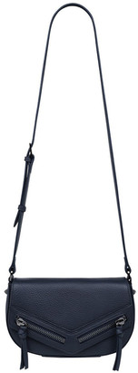 Status Anxiety SA7713 Transitory Flap Over Navy Crossbody Bag