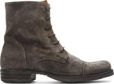 Fiorentini+Baker Taupe Suede Eternity Elios Boots