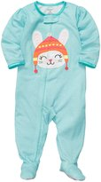 Carter's 1-Pc L/S Footed Sleeper - Pink Ditsy Flower- 12 Months