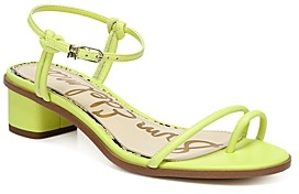 Sam Edelman Women's Isle Toe Ring Mid Heel Sandals