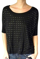 Vintage Havana - Women's Black Studded Top