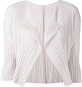 Pleats Please By Issey Miyake - cropped blazer - women - Polyester - 4