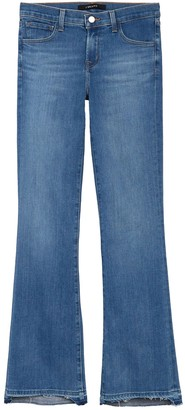 J Brand Sallie Mid Rise Bootcut Jeans