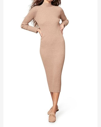 Express Bb Dakota Ribbed Sweater Dress