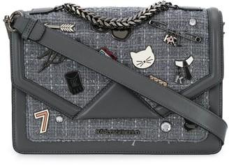 Karl Lagerfeld Paris K/Klassik pins shoulder bag