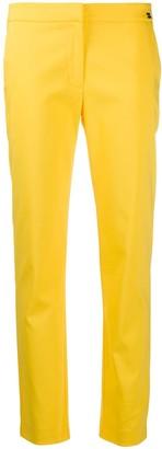 Be Blumarine Low-Waist Tapered Trousers
