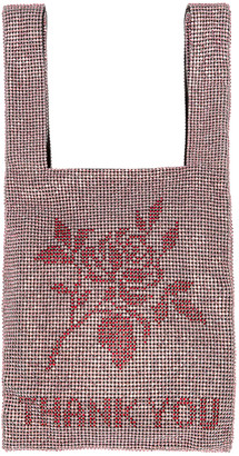 Alexander Wang Mini Shopper Bag in Pink & Red   FWRD