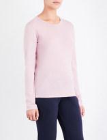 Sunspel Long-sleeve cotton-jersey T-shirt