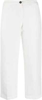 Massimo Alba Sparus cropped trousers