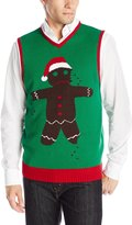 The Ugly Christmas Sweater Kit Men's Ginger Vest