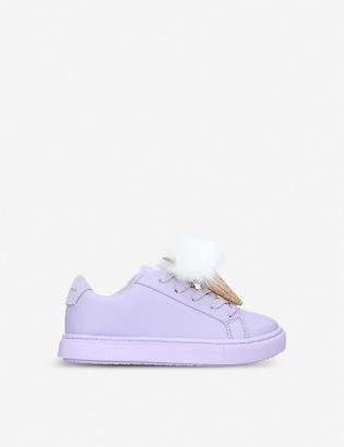 Kurt Geiger Lolly ice-cream faux-leather trainers 1-10 years