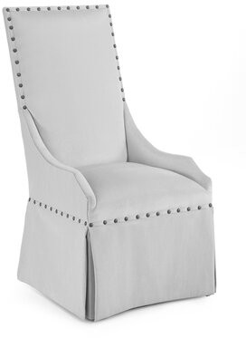 John-Richard Collection High Back Upholstered Dining Chair Upholstery: 1005 Fabric