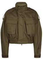 Juun.J Juun J Cropped Military Jacket