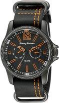 Tommy Bahama Men's 10018316 Paradise Pilot Multifunction Analog Display Japanese Quartz Black Watch