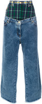 Natasha Zinko oversized layered jeans