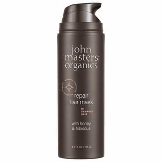 John Masters Organics Mask for Damaged Hair with Honey & Hibiscus 125g