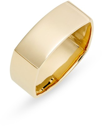 Bony Levy 14K Gold Wide Square Ring