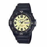 Casio Mens Black Strap Watch-Mrw200h-5bv