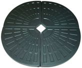 Sunlong Australia Gazebos & Umbrellas Cantilever 4-Piece Umbrella Weight Base Set, Black