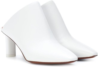 Vetements Lighter-heel leather mules
