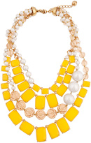 Kate Spade accessories Canary Treasure Chest Necklace