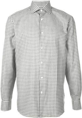 Ermenegildo Zegna check shirt