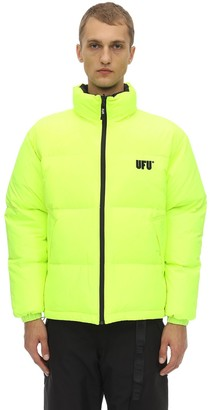 Ufu   Used Future Reversible Logo Puffer Jacket