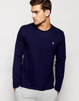 Polo Ralph Lauren Navy Long Sleeve Top Regular Fit