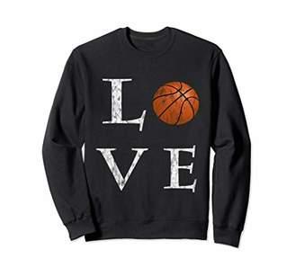 I Love Basketball Basketball Lover Vintage Sweatshirt