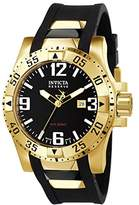 Invicta Excursion Men's Quartz Watch with Brown Dial Chronograph Display and Brown PU Strap 6255