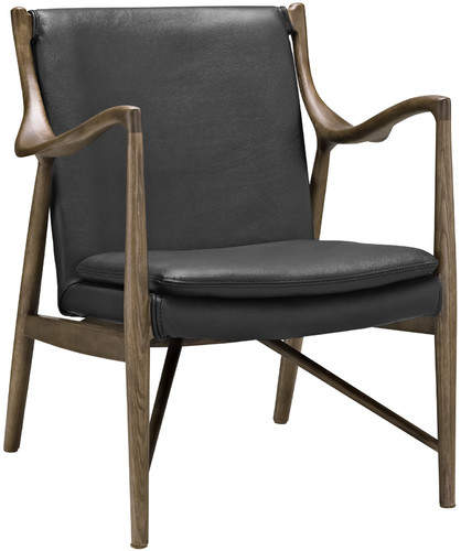 Modway Makeshift Leather Lounge Chair