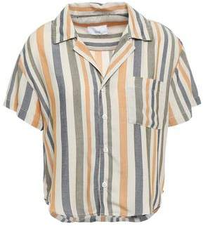 Onia Celeste Striped Jacquard Shirt