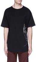 Den Im By Siki Im 'Ponyboy' face embroidered T-shirt
